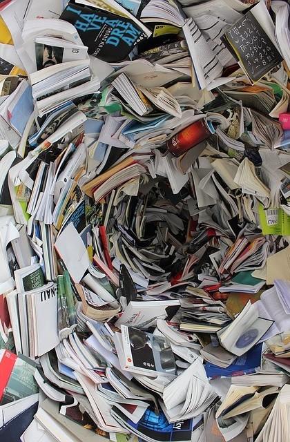 Tourbillon de livre qui vous aspire multipotentiel