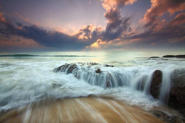 Ressac des vagues