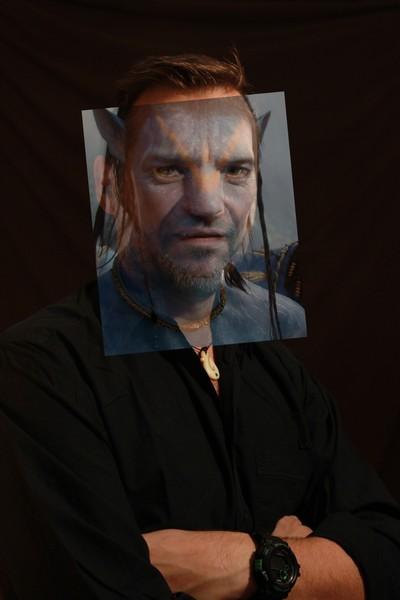 Image mixée entre thierry et avatar