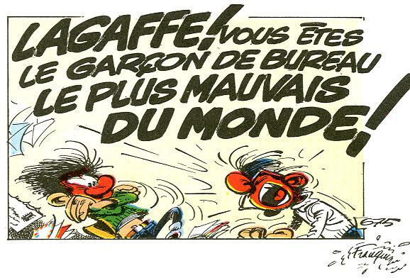Gaston Lagaffe folie
