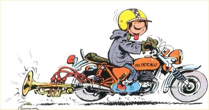 Gaston Lagaffe Moto